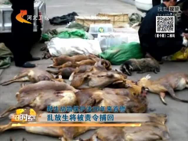 野生动物保护法26年来首修